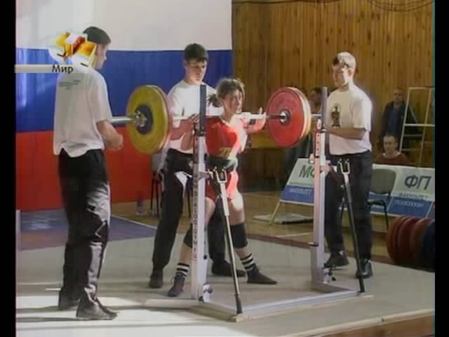 Открытие чемпионата России по пауэрлифтингу в НГПУ