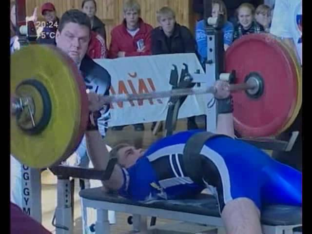 Чемпионат России по пауэрлифтингу в НГПУ