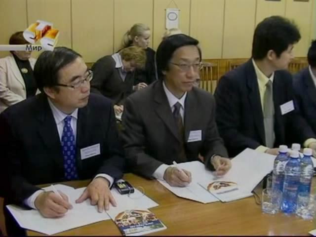 Китайская делегация в НГПУ