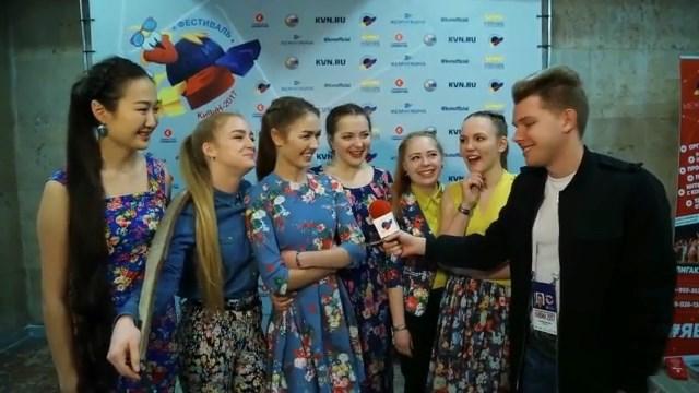 Новосибирские девушки прошли в премьер-лигу КВН