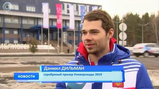 Даниил Дильман завоевал серебро в сноуборд-кроссе на Универсиаде в Красноярске