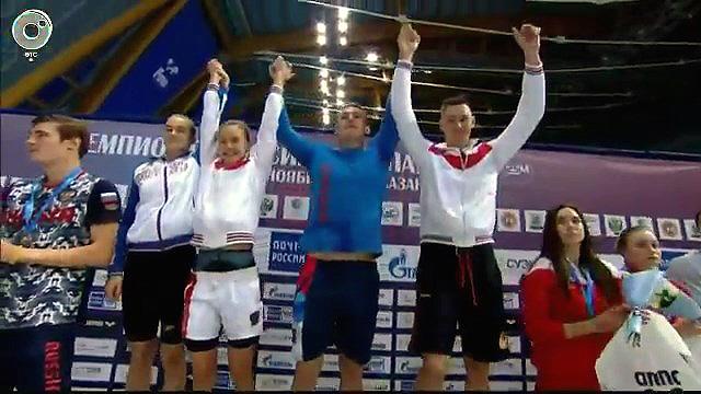 13 медалей завоевали спортсмены НСО на чемпионате России по плаванию в 25-метровом бассейне