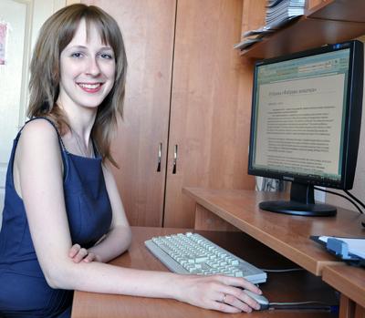 Алина Кириенко - редактор газеты