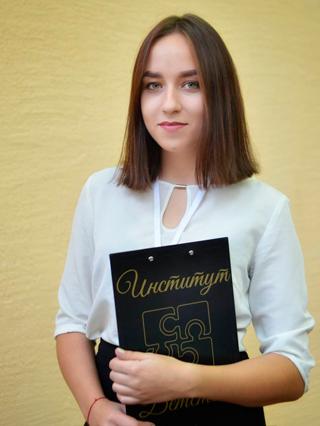 Дизайнер-верстальщик Пресс-центра НГПУ Полина Ширшова